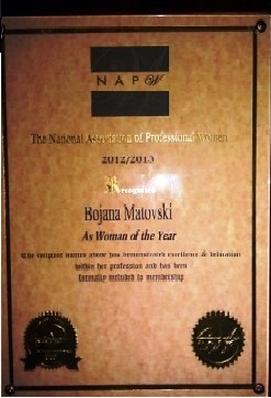 As Woman of the Year