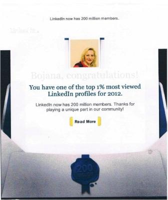 Linkedin members 1%